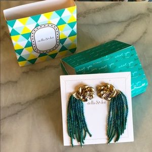 Stella & Dot Lilliann Fringe Earrings